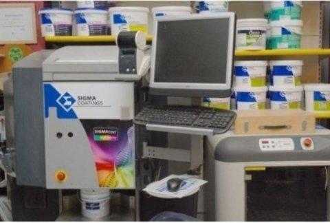 sistema tintometrico sigma