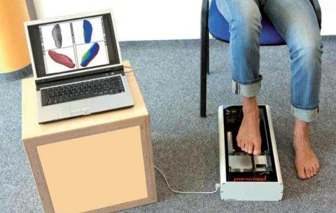 scansione del piede