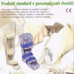 prodotti standard, personalizzati rivestiti