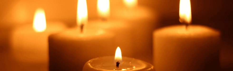 candele per cimitero