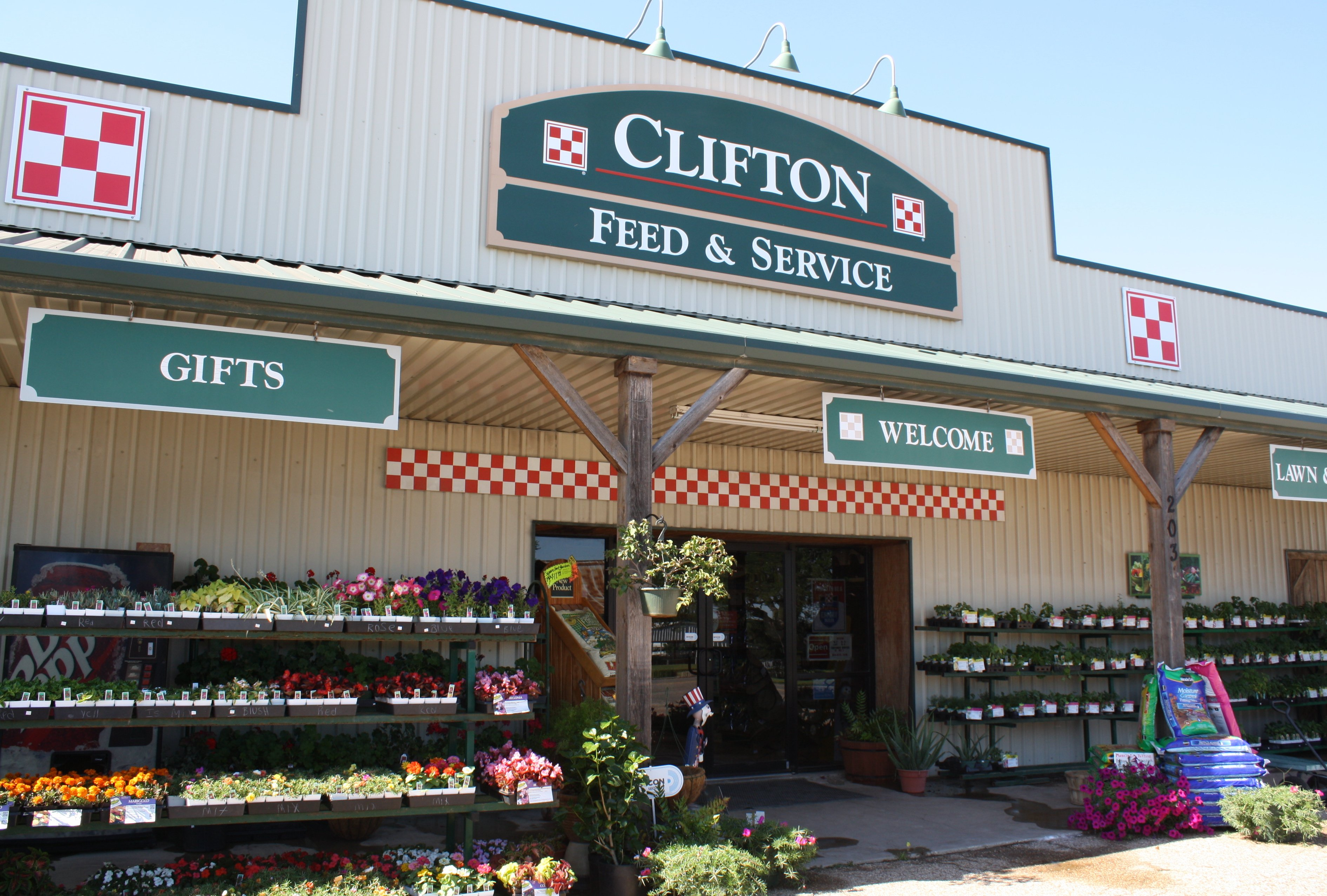 Clifton Feed & Service store front