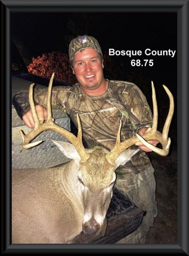 Bret Poston at 13th position in the big buck contest 2014 in Clifton, TX