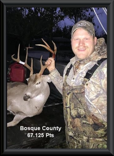 Joe Cox at 21th position in the big buck contest 2014 in Clifton, TX
