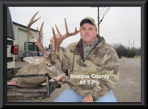 Keith Kellum at 15th position in the big buck contest 2014 in Clifton, TX