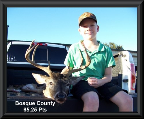 G.W. Koenig 16th position in the big buck contest 2015 in Clifton, TX