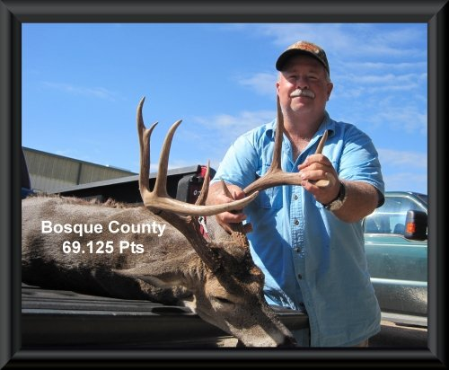 Greg Dalchau 11th position in the big buck contest 2015 in Clifton, TX
