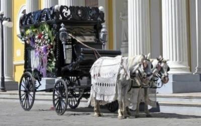 carrozze per trasporto salme Onoranze Funebri San Pietro