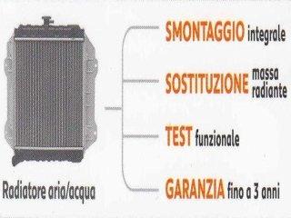 Smontaggio integrale radiatore