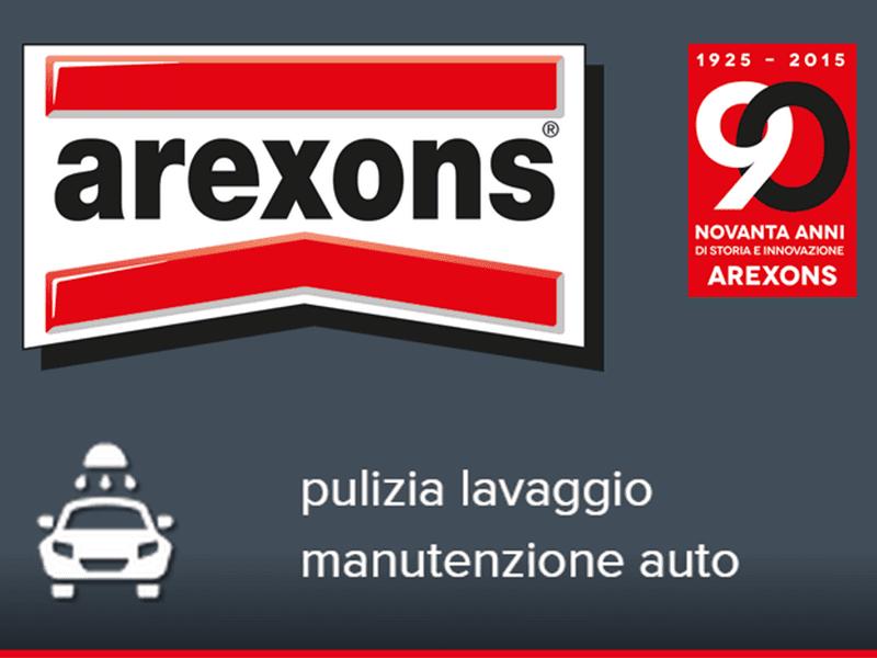 prodotti pulizia auto Arexons