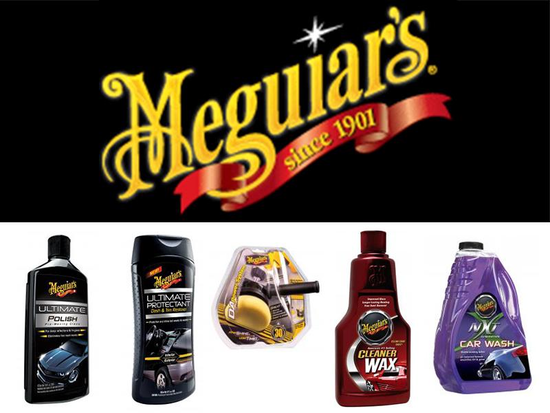 prodotti pulizia auto Meguiar