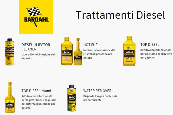 additivi trattamenti diesel