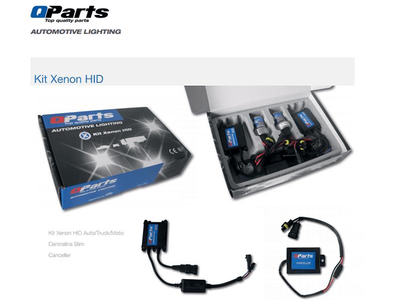 kit xenon Qparts