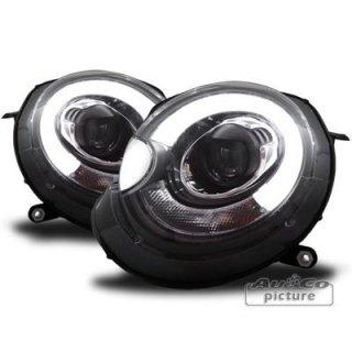 fanali anteriori con luci mini