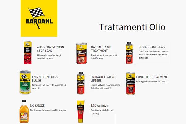 additivi trattamenti olio