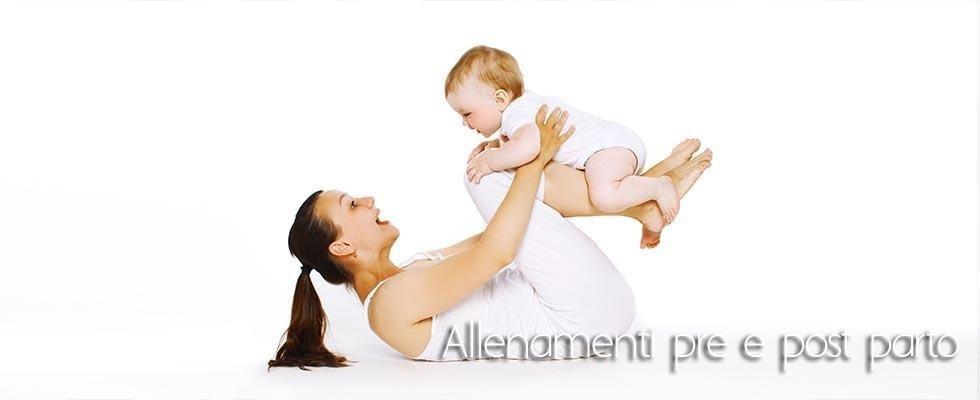 allenamento pre post parto
