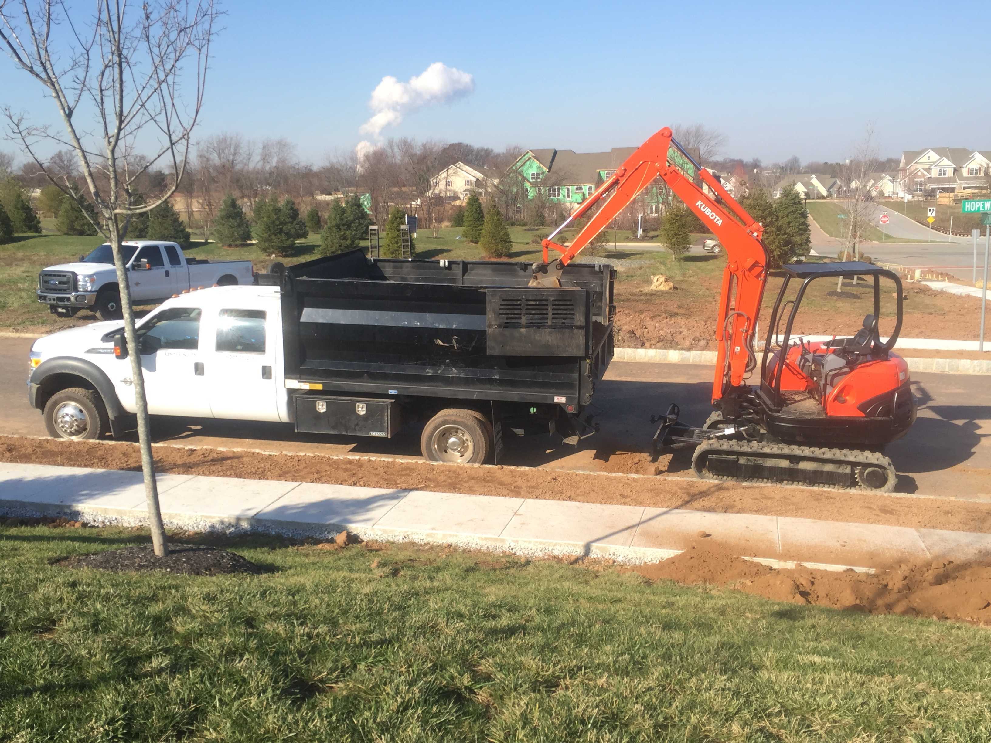 In addition to hardscaping services we offer landscaping services, pond installation and erosion and sediment control plans.