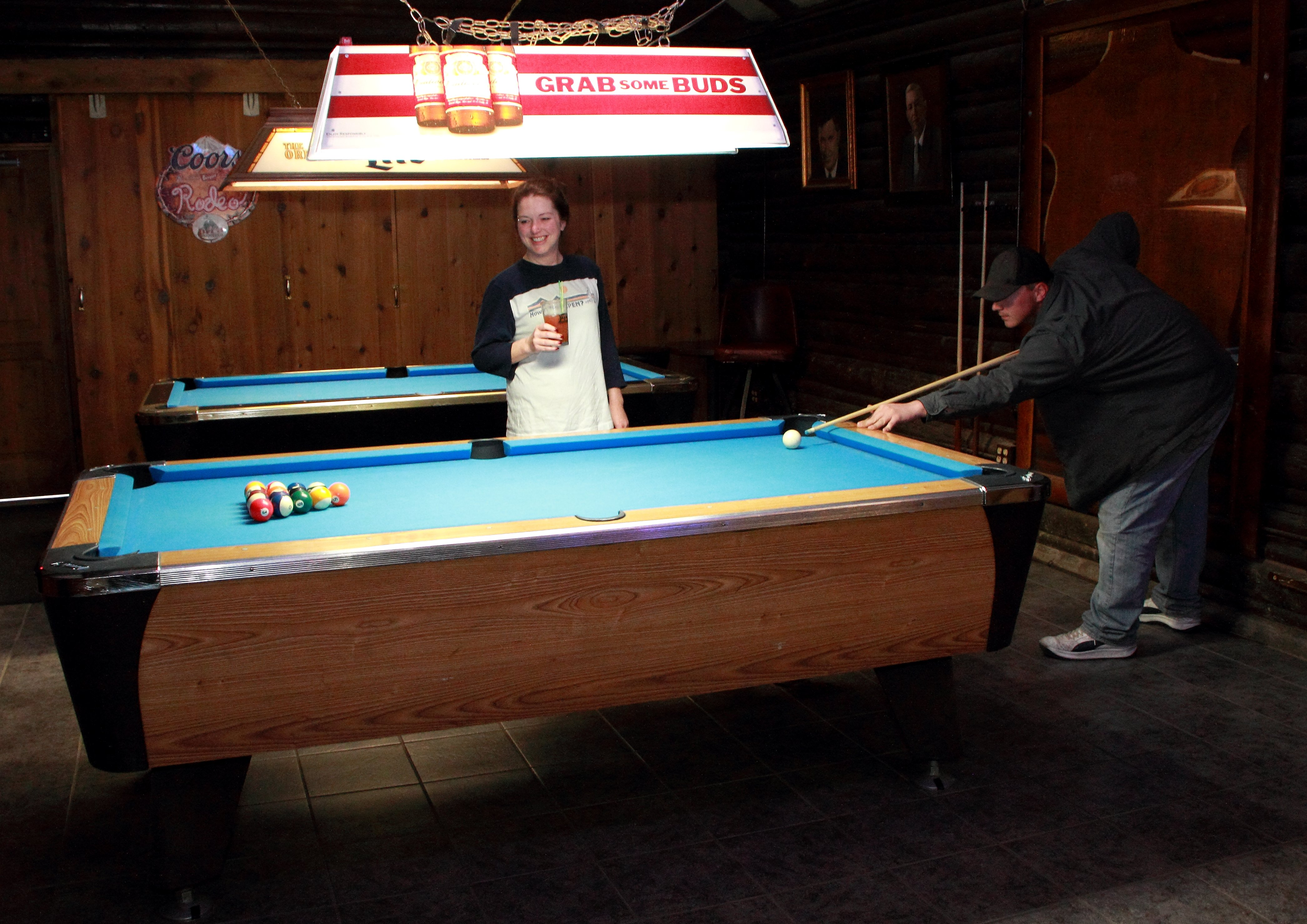 Billiards Cowboys Bar Great Falls, MT