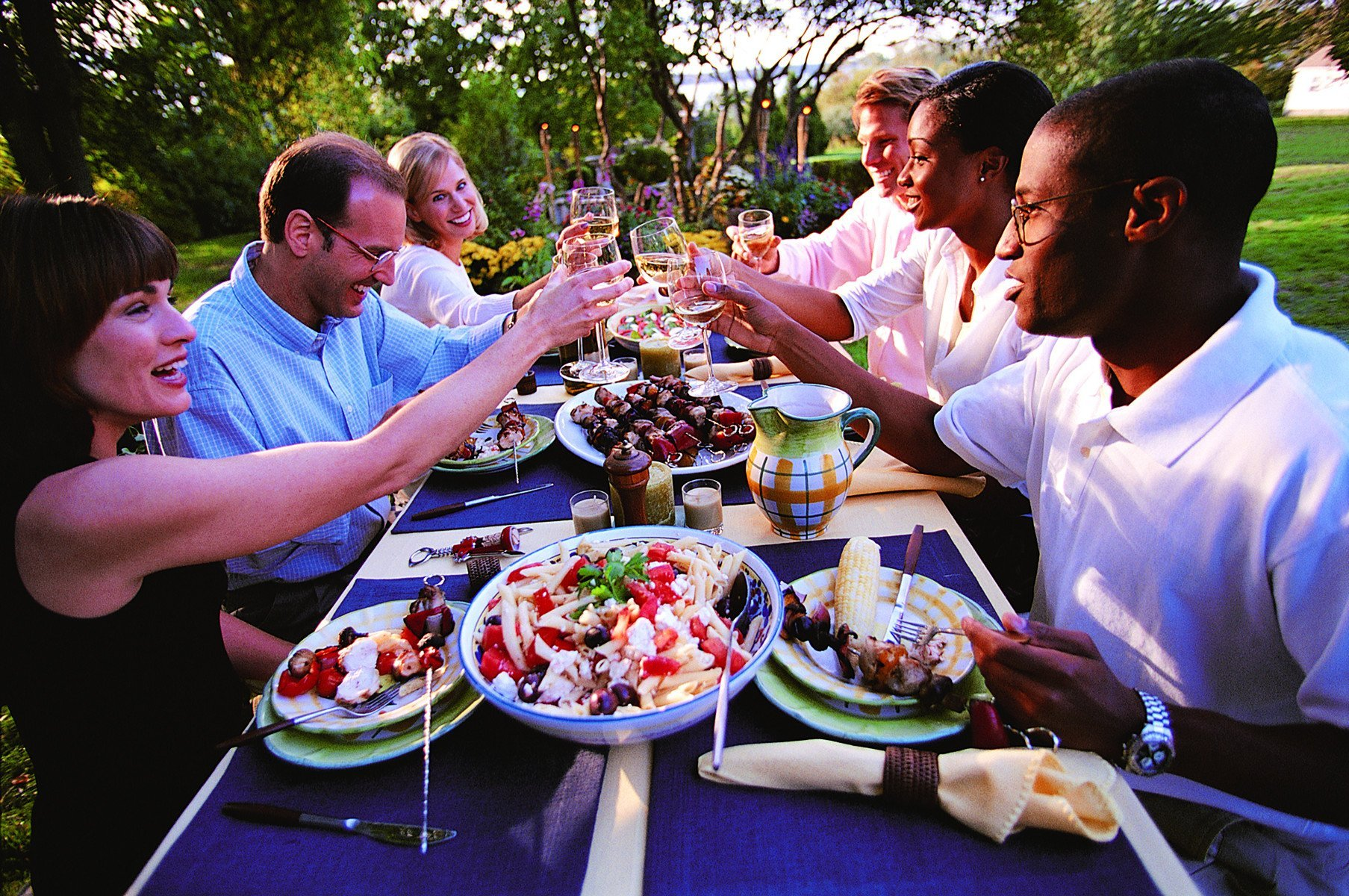 outdoor meals