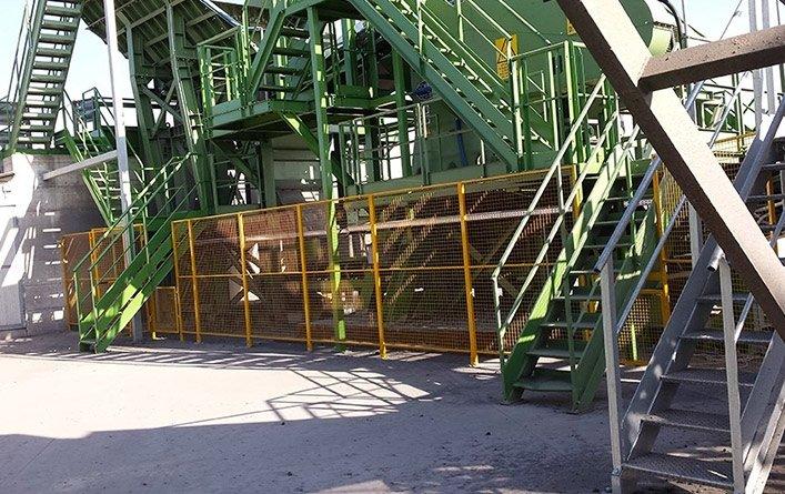 recinzioni perimetrali di ferro