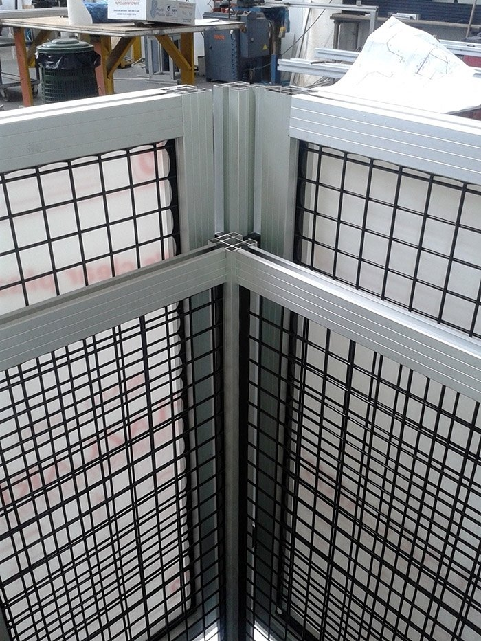recinzioni perimetrali in alluminio