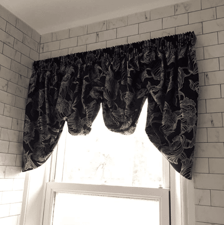 new window curtain