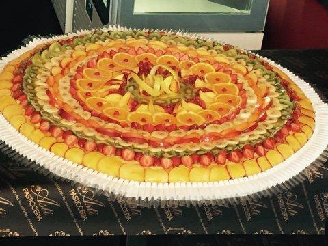 Torta dolce alla frutta