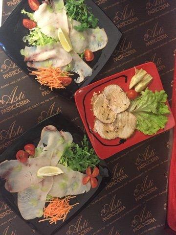 piatti con diverse verdure