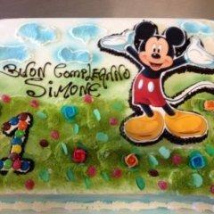 torta compleanno topolino