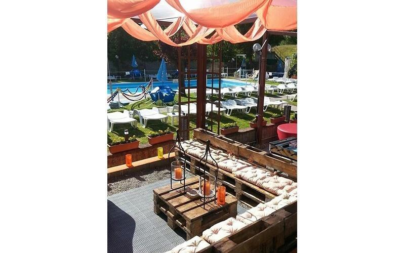 Area relax piscina