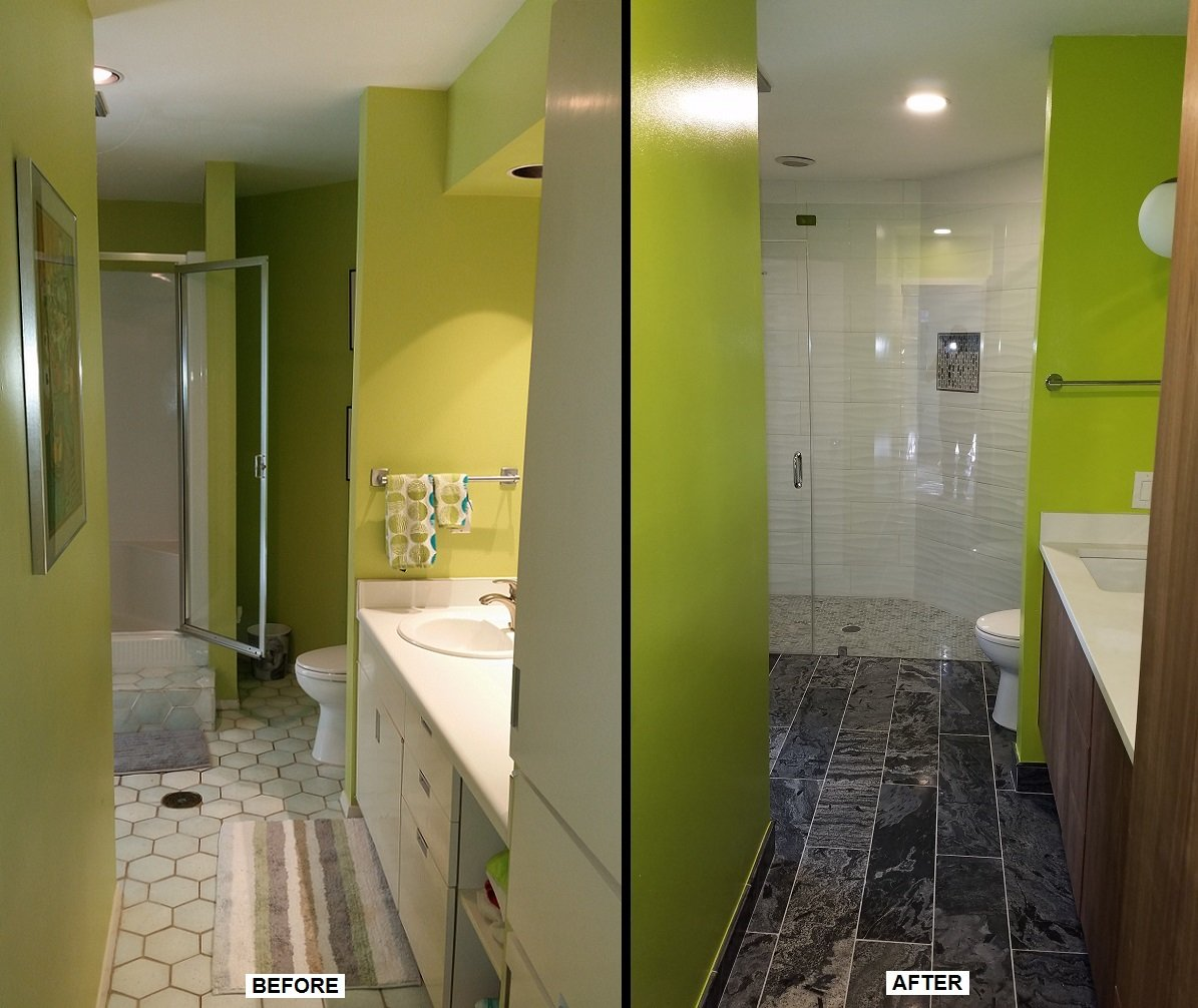 Before and After Pictures Bathroom Remodeling Austin TX