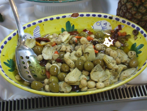 olive carciofini
