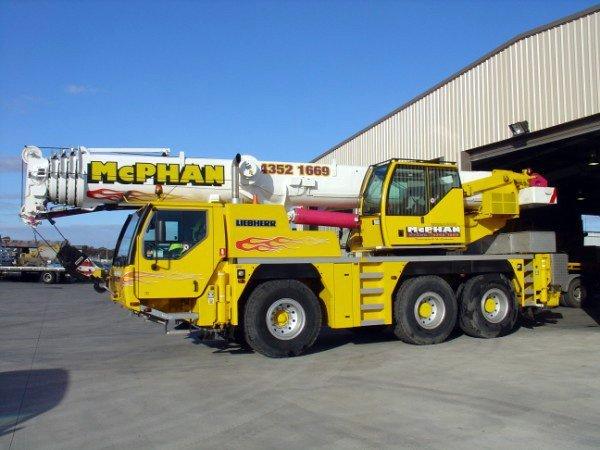 55 tonne crane