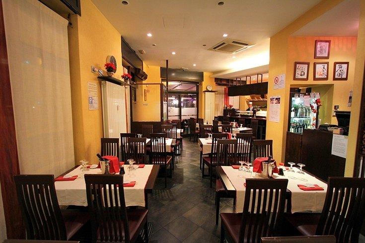 Japanese food venue