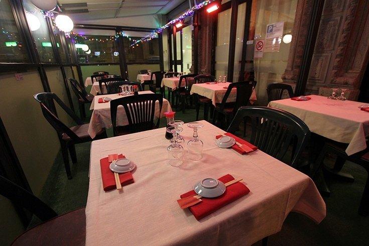 restaurant with outdoor terrace
