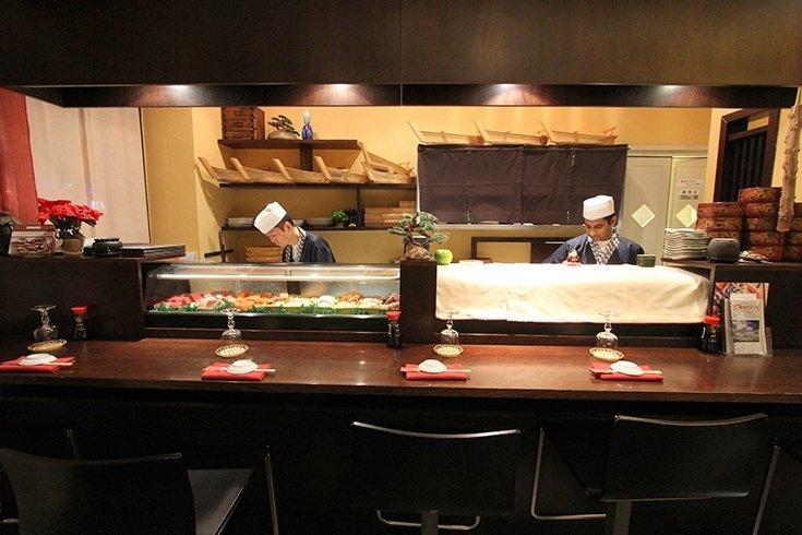 cuochi sushi