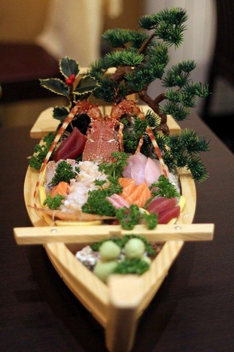 barchette sushi