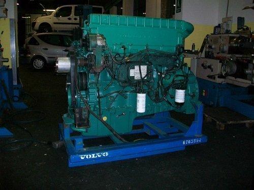 motore di grande automezzo