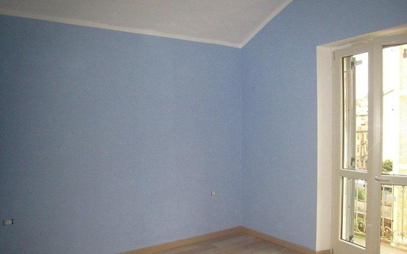 muro azzurro