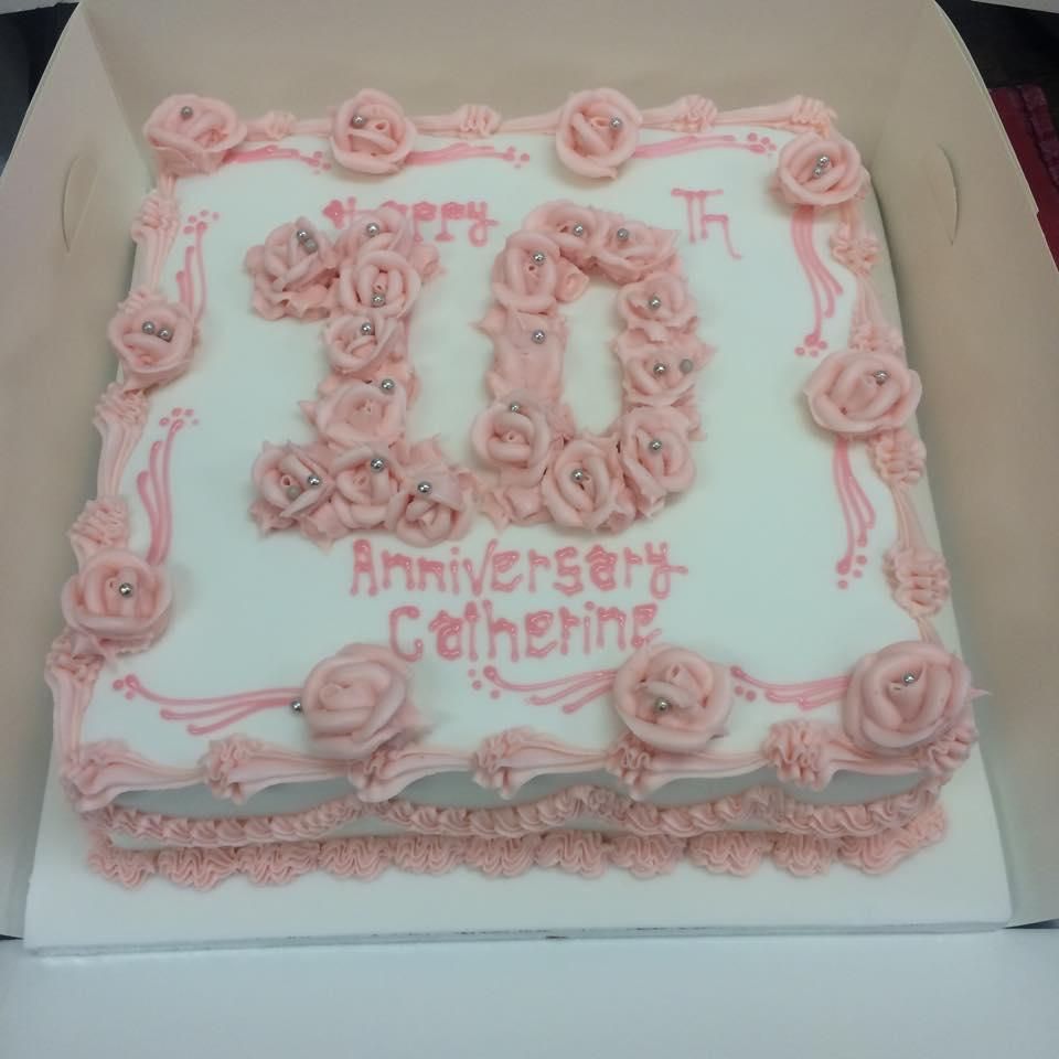 10years cake