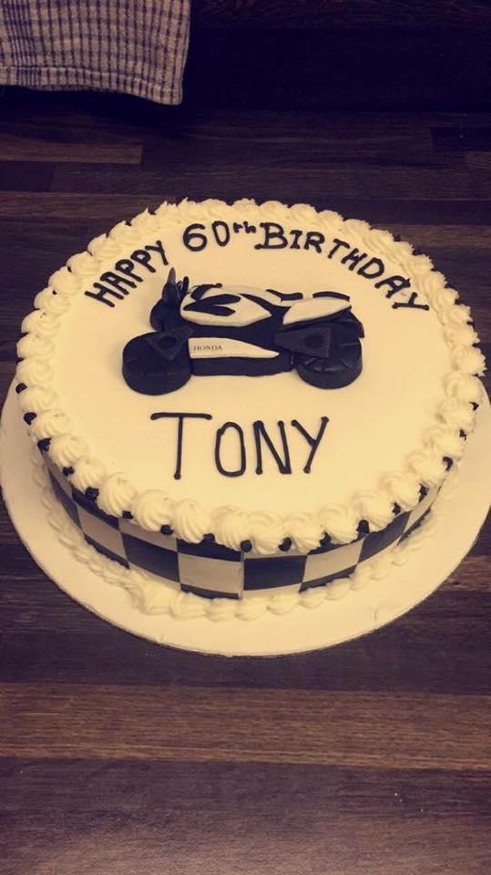 tony cake icing