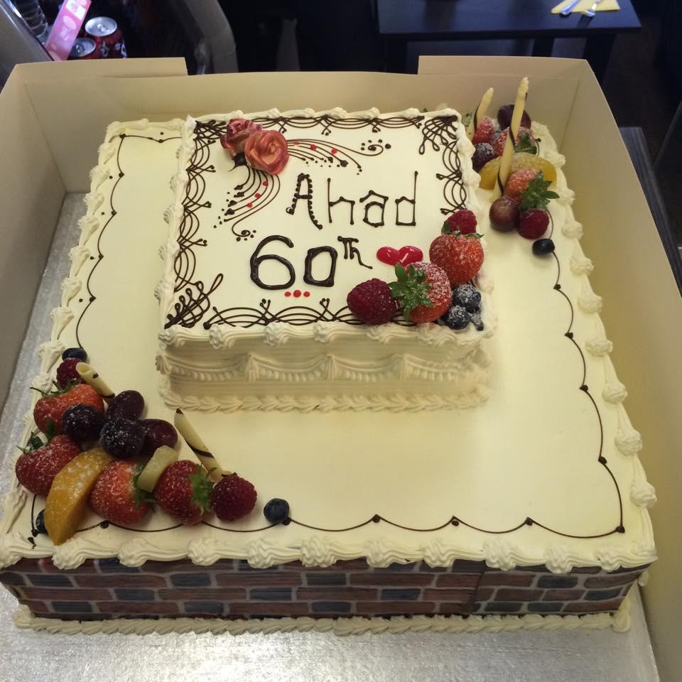 ahad 60 cake