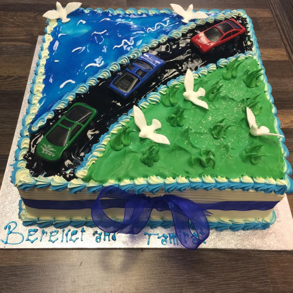 road cake