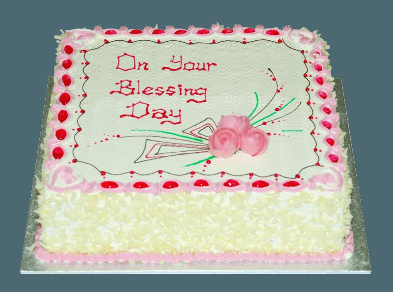 blessing day cake