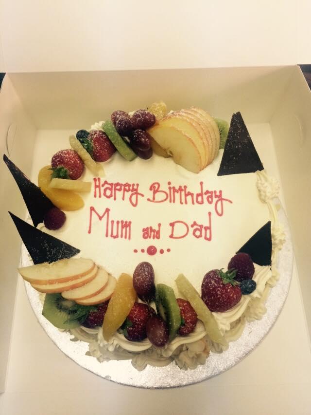 parents cake