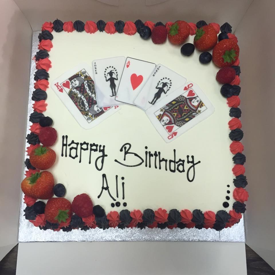 ali birthday cake