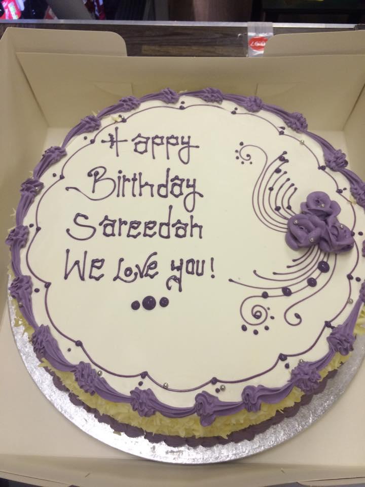 sareedah cake