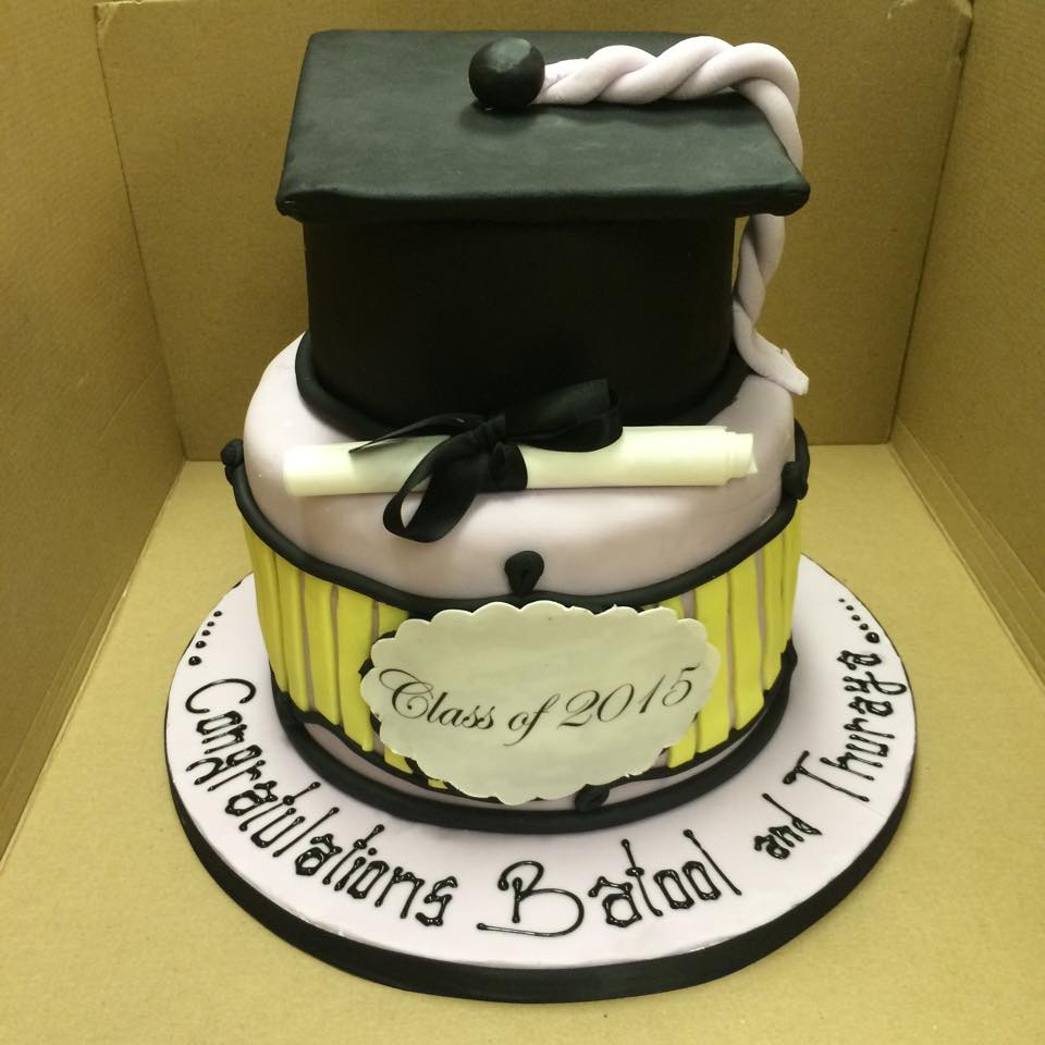 college passout cake icing