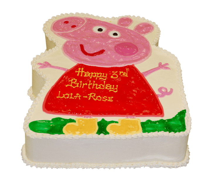 mama pig cake