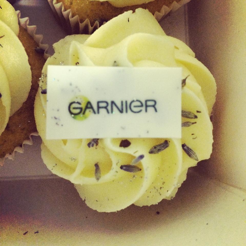 garnier cupcakes