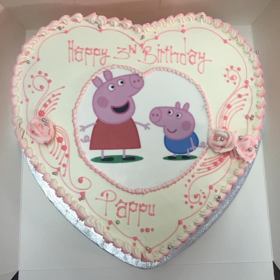 papa pig cake